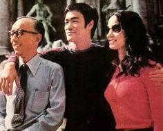 Raymond Chow, Bruce and Nora Mao.
