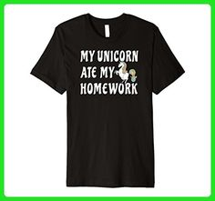 Mens Funny Unicorn Shirts for Teenager Girls and Students Small Black - Careers professions shirts (*Amazon Partner-Link)