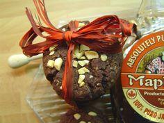 Cookies con sirope de arce y cacao