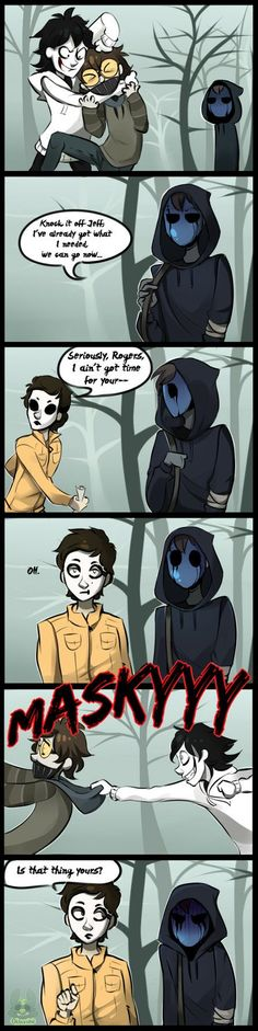 |Creepypasta Comic| Is That Yours? by 0ktavian.deviantart.com on @DeviantArt