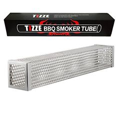Feature Product name: TIZZE Smoker Tube Product length: 12 inches Material: Stainless steel Smoking time: Up to 5 hours 1. Can be used in electric, gas, charcoal and any other grills 2. Delivers adequate mild and wispy smoke up to 5 hours 3. Perfect for hot and cold smoking 4. Fits smoking... more details available at https://www.kitchen-dining.com/blog/grills-outdoor-cooking/outdoor-fryers-smokers/product-review-for-tizze-12-bbq-pellet-smoker-tube-works-with-electric-gas-cha