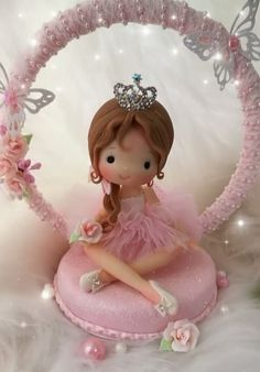1 million+ Stunning Free Images to Use Anywhere Polymer Clay Dolls, Polymer Clay Crafts, Cold Porcelain Tutorial, Ballet Cakes, Free To Use Images, Fondant Toppers, Cute Clay, Felt Decorations, Porcelain Clay