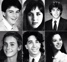 "Why this might be the greatest set of yearbook photos in history. | 31 Things Only ""Friends"" Fans Will Appreciate"
