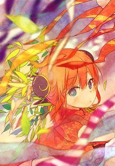Tags: Anime, Gin Tama, Pixiv, Kagura (Gin Tama), Nuriko-kun