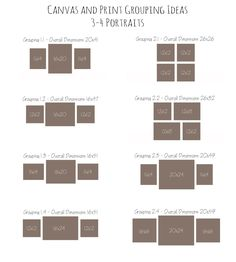 Canvas and Print Grouping Ideas with Crabapple Photography · Crabapple Photography Canvas Wall Collage, Canvas Display, Hanging Canvas, Canvas Prints, Canvas Groupings, Photo Arrangement, Wedding Canvas, Gallery Wall Layout, Picture Layouts