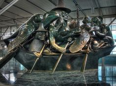 Bill Reid sculpture, Vancouver Airport | Flickr - Photo Sharing!