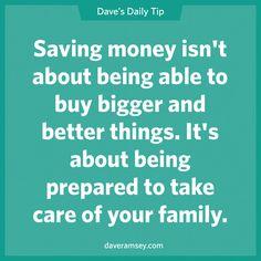 Dave's Daily Tips – Financial Peace | Good Shepherd Lutheran Church