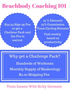Becoming a Team Beachbody Coach with is one of the best decisions you can make & we make it super simple for you when you become one with the purchase of a Challenge Pack. With a challenge pack you get EVERYTHING you need to start your business off on the right foot. Fitness, nutrition, accountability and financial reward all rolled into one. Team Beachbody Coach, Team Success, Shakeology, Fitness Nutrition, Super Simple, Helping People, A Team, Coaching, How To Become