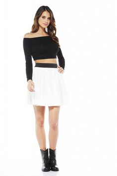 Not sure how I feel about the whole crop top style, but this I like