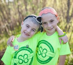 Meet 2 Young Warriors Supporting the Fight Against Cancer:  Sisters Kaela and Mara, ages 9 & 7, shaved their heads to support kids with cancer.  -- (St. Baldrick's Blog | Childhood Cancer Stories & Research)