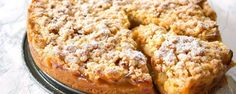 simple recipe for a traditional German Apple Crumble Cake (Apfelkrümel). Made with only a few ingredients: apples, flour, baking powder, butter, and sugar Crumb Recipe, Apple Crumble Recipe, Cake Vegan, Pastry Blender, Crumble Topping, Food Cakes, Few Ingredients, Vegan Baking, Pie Recipes