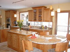 Kitchen & Bath, Etc. - eclectic - kitchen - cleveland - Kitchen & Bath, Etc. Diy Kitchen Remodel, Kitchen Redo, Kitchen And Bath, New Kitchen, Kitchen Ideas, Kitchen Layout, Kitchen Designs, Kitchen Island Dining Table, Kitchen Island With Seating