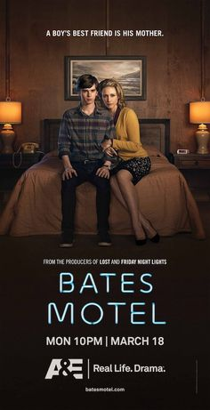 Next Bates Motel Poster Shows Us A Boy And His Mother. Creepy seems like a fitting tone to promote the series, especially knowing that Norman will go on to become a serial killer.