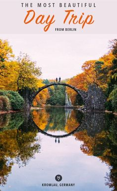 This legendary bridge in Saxony, Germany will make you feel like you've fallen into a fairytale. It's one of those places where it's just as magical in photos a