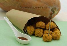 Le polpettine di quinoa e zucca sono uno sfiziosissimo finger food vegetariano perfetto anche come idea per un buffet,leggero,vegetariano e con poche calorie