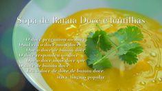 Ingrediente Secreto | Episodios | 5/8 Batata Doce | Sopa de batata doce e lentilhas