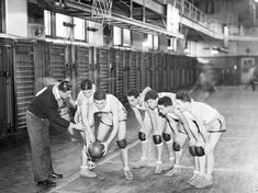 The City College of New York basketball team in 1932. - NPR piece about stereotypes (specifically in bball, and how in the 1920's, the dominant players were Jewish-American).