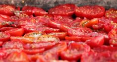 Zelf zongedroogde tomaten maken