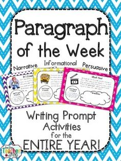 Writing a well organized paragraphs