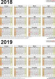 Template  Pdf Template For Three Year Calendar