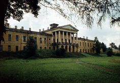 Ropsha Palace around 1980. This Romanov Palace is 12 miles south of Peterhof.  it is soon to be restored.