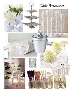 I like the floral ideas. Diner en Blanc Philadelphia