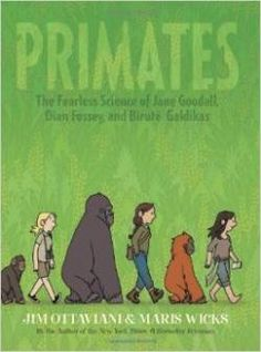 34 best early chapter books adventurenaturesurvival images on lesson plan page primates the fearless science of jane goodall dian fossey and birute galdikas fandeluxe Gallery
