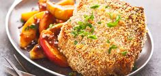 Sandra Lee Pork Chops and Apples- Pork Chops and Apples