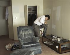 Jeff Wall A sudden gust of wind (after Hokusai) – Art Blart Jeff Wall Photography, Color Photography, Stephen Shore, Magnum Opus, James Turell, Ian Potter, Melbourne Art, A Little Life, Tate Gallery