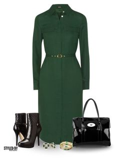 """""""Office Wear"""" by marion-fashionista-diva-miller ❤ liked on Polyvore featuring Raoul, Mulberry, Trilogy, MICHAEL Michael Kors and Kate Spade"""
