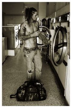 I wouldn't mind him washing my delicates... #eyecandy #dreadlocks