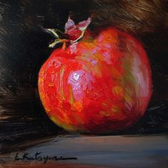 Elena Katsyura | OIL | Pomegranate
