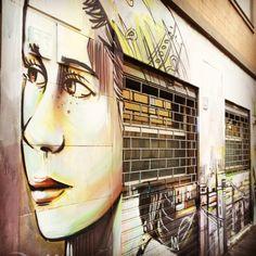 Tufello/rome  Artist: Alice Pasquini  Photo: Alfredo Facchini #ShareArt - http://wp.me/p6qjkV-8kr  #Art
