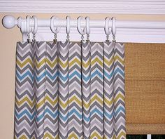 Main floor guest bedroom curtain idea.  <3 on etsy.