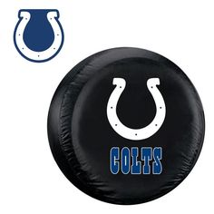 Indianapolis Colts NFL Spare Tire Cover And Grille Logo Set Large