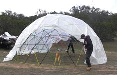 How To Build A Geodesic Dome | Cool DIY Projects & Homesteading How-To's | Pioneer Settler | Best DIY Projects for the Homestead at pioneersettler.com |#pioneersettler | #homesteading | #selfreliance