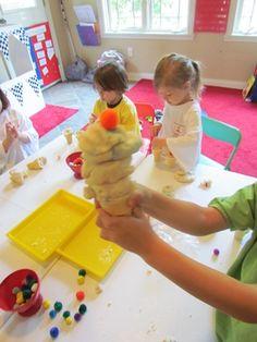Ice Cream Play Dough Play | Teach Preschool