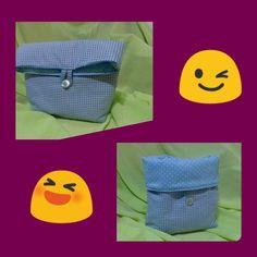 Bolsitas de tela tipo cesta para bebes