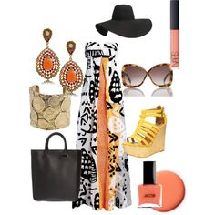 pool party wear, created by gglogan on Polyvore