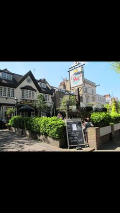 The red lion and sun in highgate village London