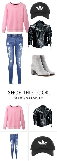 """""""Descendats style"""" by arinadizaine on Polyvore featuring мода, Leka, Tommy Hilfiger, Topshop, Gianvito Rossi и dovecameron"""