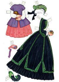 Century Dolls, by Queen Holden, paperdolls Paper Toys, Paper Crafts, Paper Dolls Clothing, Paper Dolls Printable, Vintage Paper Dolls, Retro Toys, Historical Costume, Doll Patterns, Album