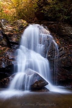 Maidenhair Falls, Dodd Creek, Georgia; photo by John Cothron, via Flickr.