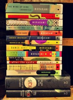 Murakami books Have Read: Blind Willow, Sleeping Woman Kafka on the Shore Norwegian Woods South of the Border, West of the Sun
