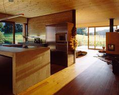 Casa Pasiva Luger Maier: eficiencia energética y arquitectura en madera | Ecoesmas | #madera #techos #design #interior #architecture