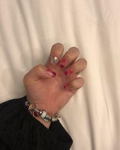 이번 네일 영롱영롱🌹 . . . #수원네일아트#권선동네일가든#권선동네일 #레드네일#네일#nail#영롱네일#daily Nails, Rings, Jewelry, Fashion, Finger Nails, Moda, Jewlery, Ongles, Jewerly