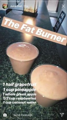 30 Super Healthy Smoothie Recipes - Easy smoothie Recipe - Karluci Fat Burner Smoothie, Smoothie Diet, Superfood Smoothies, Fat Burner Drinks, Smoothie Drinks, Detox Drinks, Banana Drinks, Fat Burning Smoothies, Morning Protein Shake