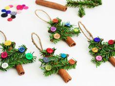 Handmade Christmas Ornaments - Easy DIY Christmas Ornament Craft Ideas - Good Housekeeping
