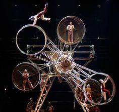Cirque du Soleil's Ka at the MGM Grand in Las Vegas.