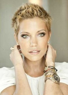short hairstyles - short spiky hairstyle for women …